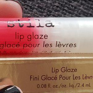 Stila , lip glaze, Raspberry